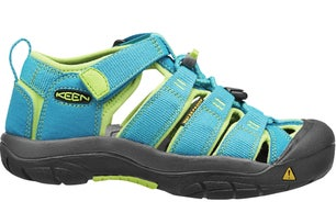 Turquoise Textile Low Outdoor Sandals