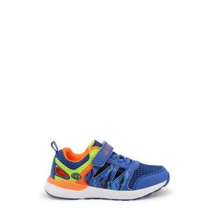 Blue Velcro Strap Kids Sneakers