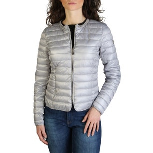 Long Sleeve Quilted Zipper Jacket