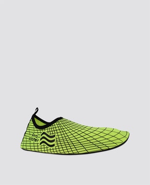Yellow Patterned Water Shoes