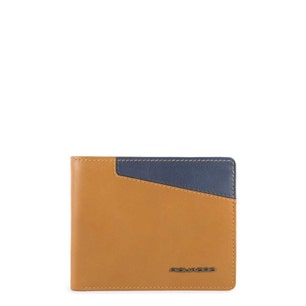 Two Tone Leather Card Holder Wallet