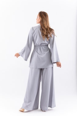 Light Grey Belted Co-Ord