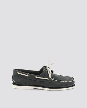 حذاء موكاسين كلاسيكي لون رمادي