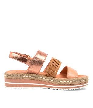 Cantaloupe Akidnat-Dj Flats/Sandals