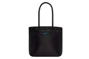 Quilted Knotted Rope Tote Bag