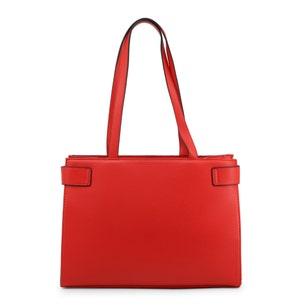 Red Angelo Belt Front Shoulder Bag