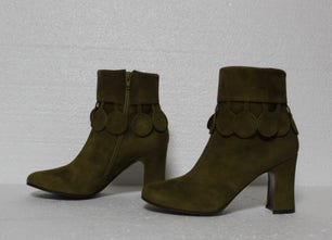 Ante Olivia Side Zipper Ankle Boots