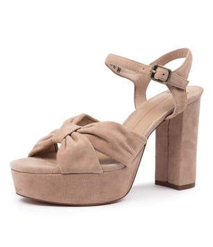 Azzure-Mo Knotted Toe Strap Sandals