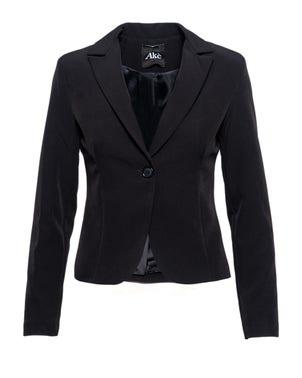 Collar Long Sleeve Single Breasted Blazer