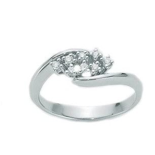Connected Diamond Ring