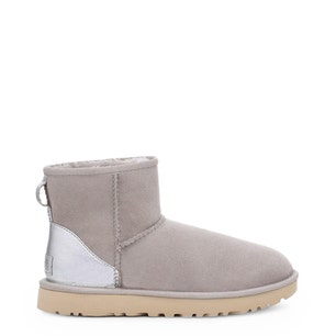 Suede Contrast Heel Tab Ankle Boots