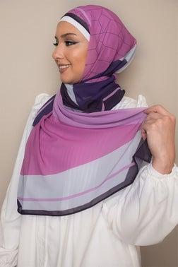 Geometric  Printed Dreams Hijab