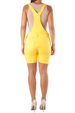 Sleeveless Button Jumpsuit