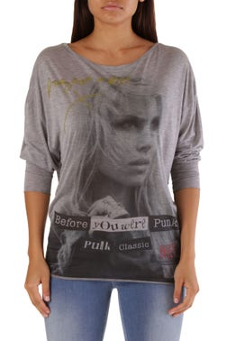 Long Sleeve Graphic Print Top