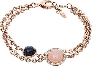 Rose Gold Plated Stone Bracelet