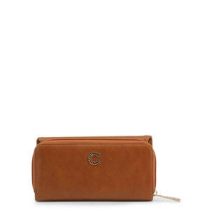 Brown Jenny Leather Continental Wallet
