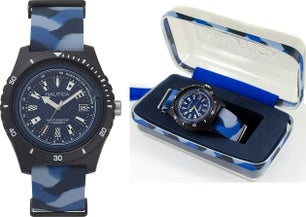 Blue Surfside Silicon Strap Watchsets