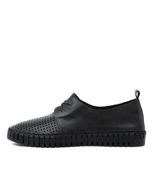 حذاء رياضي جلد هيوستون-ديو لون أسود