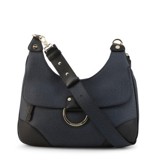 Textured Leather Magnetic Crossbody Bag