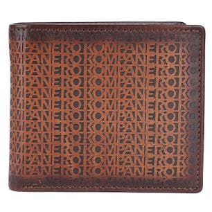 Brown Leather Card Slots Wallet