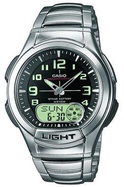 Quartz Ana Digit Light Digital Watch