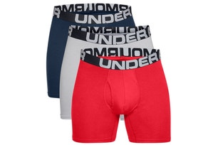 3 Packs Charged Cotton 6IN Boxer Trunks