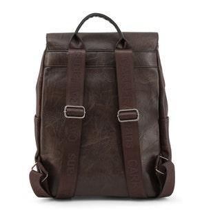 Brown Tuscany Zipper Flap Backpack