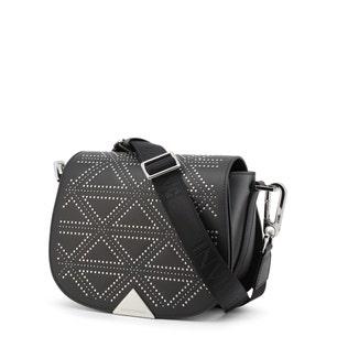 Black Small Studs Clutch Bag