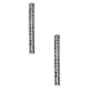 Stainless Steel Silver Earring