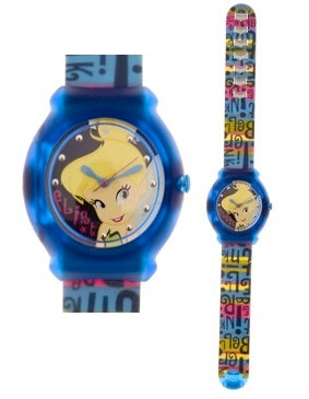Brown Mickey Mouse Kid Clip Watch
