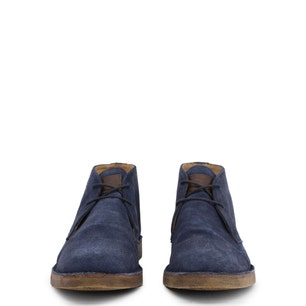 Blue Leather Ohio Mid Top Shoes