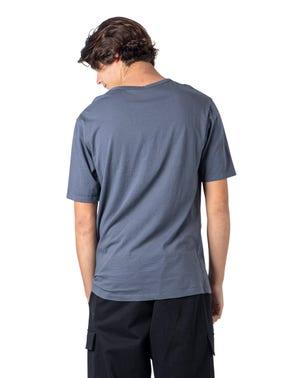 Grey Plain Loose T Shirt
