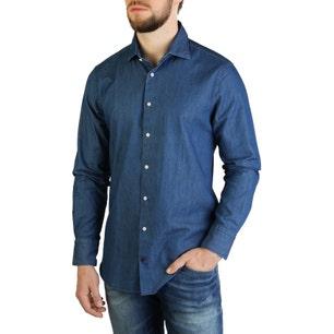Denim Button Long Sleeve Shirt