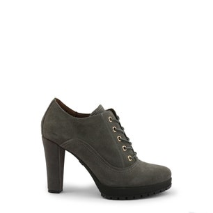 High Heel Round Toe Lace Up Shoes
