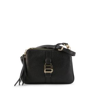 Black Tassel Zipper Crossbody Bag