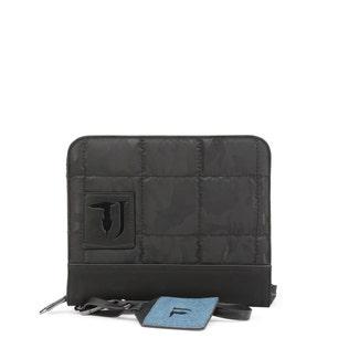 Black Ticinese Small Zip Hand Bag