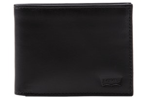 Black Leather Casual Classics Wallet