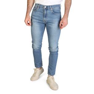 Button Denim Zipper Slim Fit Jeans