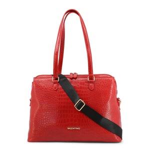 Red Maio Croco Shoulder Bag