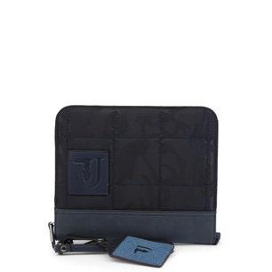 Dark Blue Small Plain Handbag