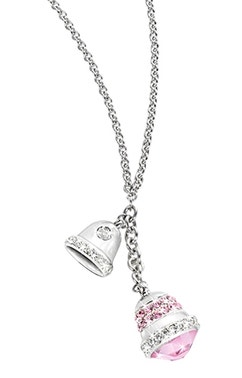 Stainless Steel Bell Pendants Necklace