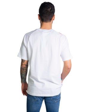 Short Sleeve Classic Stripes Logo T-shirt