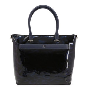 Blue Paprica Glossy Shopping Bag
