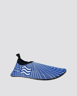 Blue Patterned Water Shoes