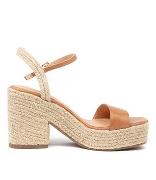 Tan Caspa-Mo Wedge Sandals