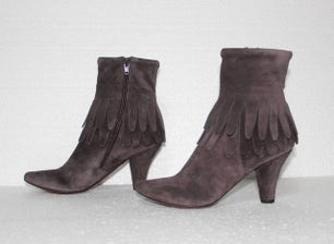 Mahina27 Jean Carbon Zip Ankle Boots