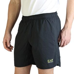 Classic Plain Elastic Waist Short