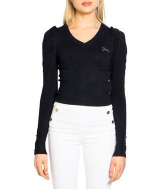Long Sleeve Round Neck Knit Top