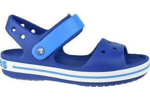 Blue Crocband Outdoor Kids Sandals