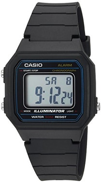 Collection Black Dial Digital Watch